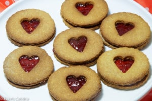 Valentijnkoekjes