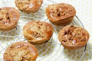 bananenmuffins met pecan crumble