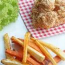 Chicken nuggets met groentenfrietjes-3
