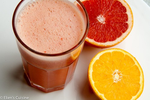 Citrus-aardbei smoothie-1