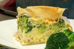 quiche met broccoli en forel-1
