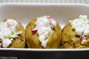 Aardappel met cottage cheese lenteui radijs-2