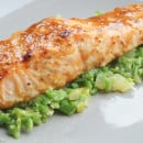 Zalm met maple Syrup-3