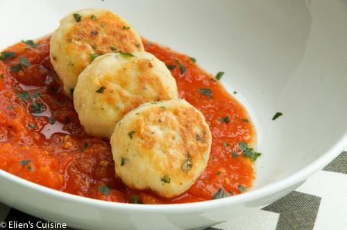 visballetjes in tomatensaus-3