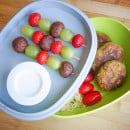 lunchbox falafel fruit brownie sates
