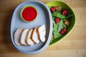 lunchbox salade