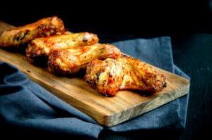 chicken wings met vadouvan