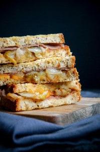 tosti met witloof ham en cheddar