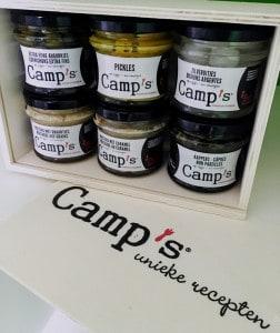 Camps preistoemp met kabeljauw mosterdkorstje