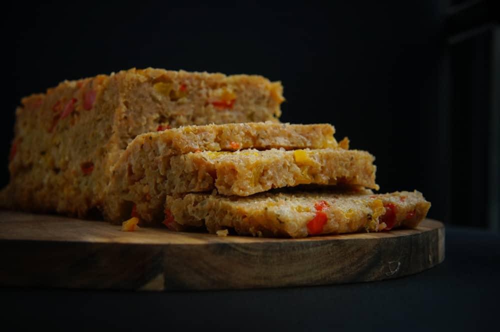 kipgehaktbrood met quinoa