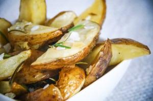 Falksalt look aardappelen