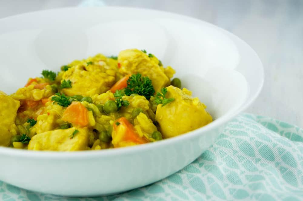 kip curry stoofpotje