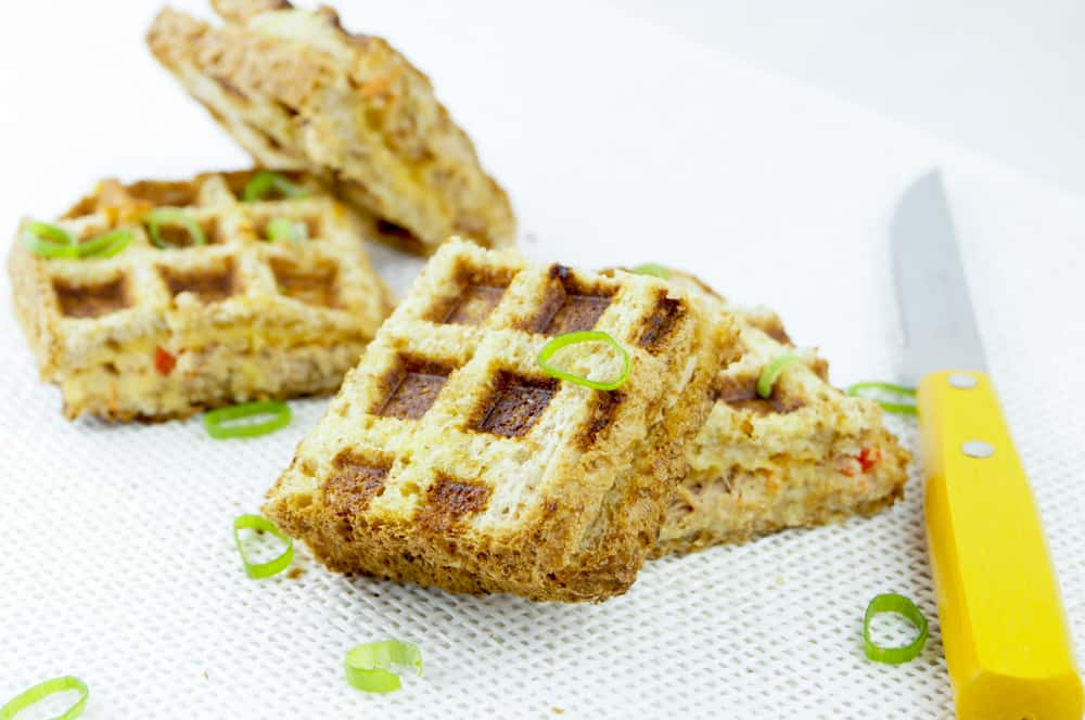 Tuna Melt wafels