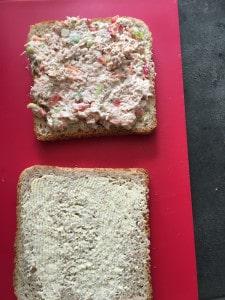 Tuna Melt wafels