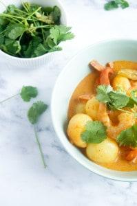 curry krieltjes scampi-1