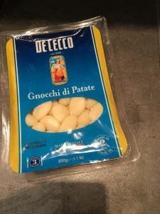gnocchi met asperges ham gnocchi paprikasaus