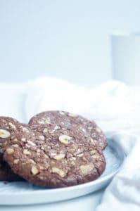Nutella hazelnoot koekjes-1