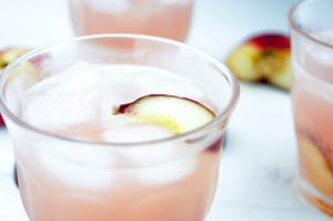 Perzik limonade