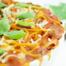 Spaghetti bolognese frittata