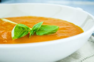 soep van geroosterde tomaat en paprika-1