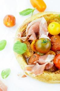 taartje met tomaat proscuitto burrata-2