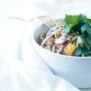 Noodle salade met mango
