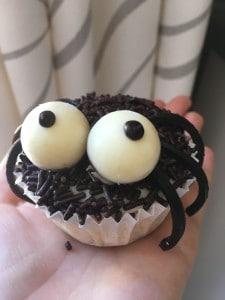 spinnencupcake