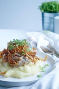 Pastinaakpuree chips vlees-1