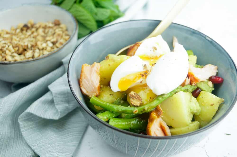 Aardappelsalade met asperges dukkah-1