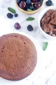 Chocoladecake met mascarpone chocoladecreme-1