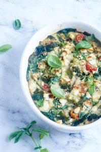 Ovenpannenkoek spinazie tomaat broccoli-1