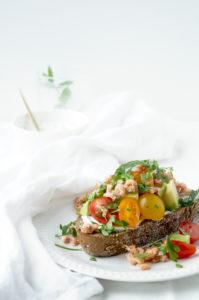 Avocado Tomaat-Garnaal