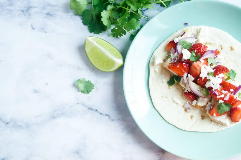 taco kip aardbei salsa-1