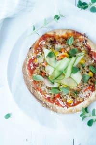 Tortilla pizza-1