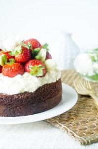 amandelcake met mascarpone aardbeien-1