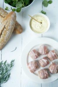 Broodje gehaktbal courgette currysaus-1
