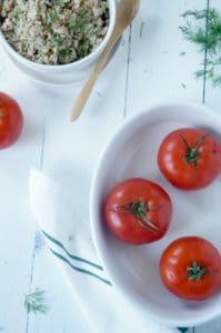 Gevulde tomaten-1