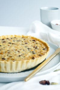 Chai witte chocolade hazelnoot taart-2