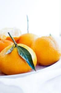 Speculaas cheesecake met mandarijntjes