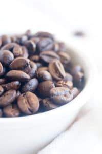 Madeleines met koffie