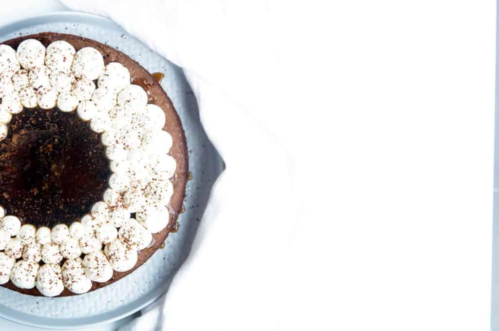 Chocolade tiramisu cake