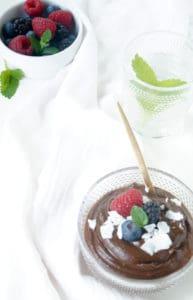 chocolademousse met avocado
