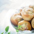rabarbermuffins met gember
