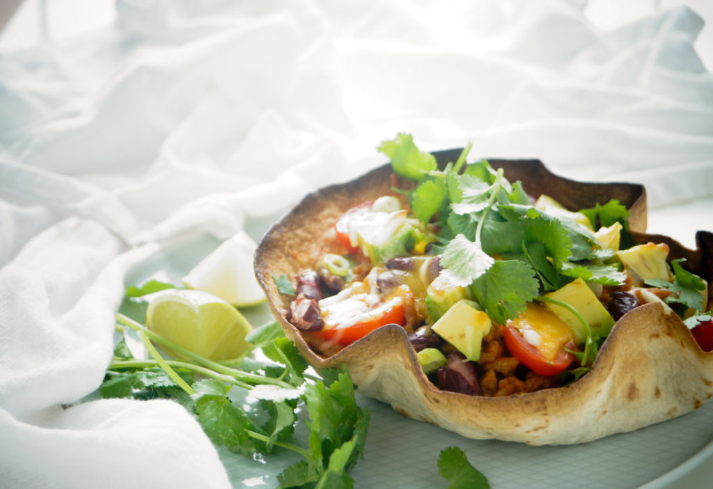 tortilla bowl