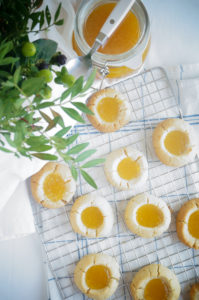 Jamkoekjes met mango