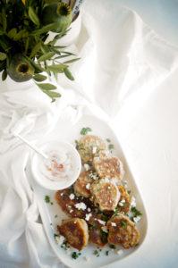 Koekjes met boerenkool en feta