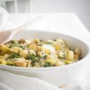 Gnocchi met kip, champignons, boerenkool en prei