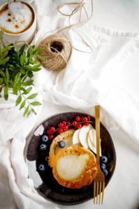 Pannenkoeken met peer
