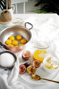 Zandkoekjes met limoen en passievrucht