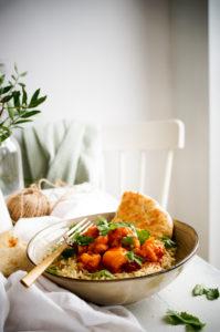 Bloemkool curry